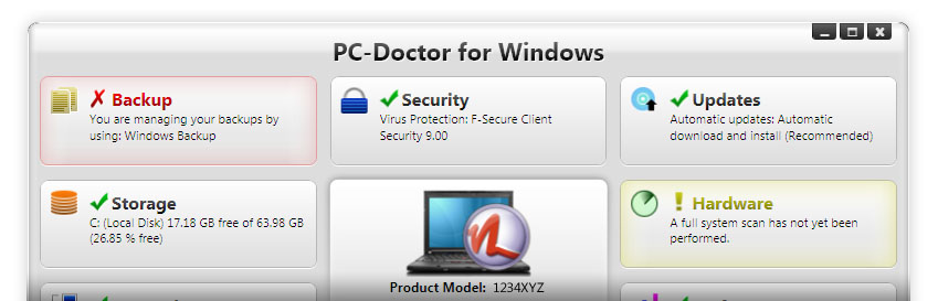 PC-Doctor for Windows