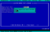 PC-Doctor for DOS - Test Count